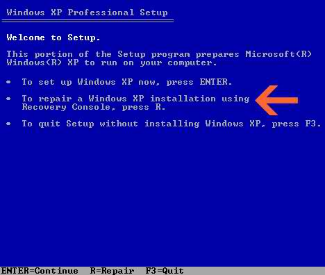 how to fix windows xp boot problems